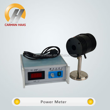 New Products CO2 laser tube 0-200W power meter