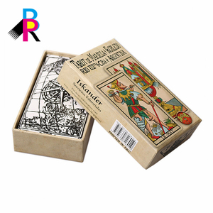 Olde Delicate Story Cards Custom Design Character Cards Poker Postcard Printing and Packaging Box Paper Packaging