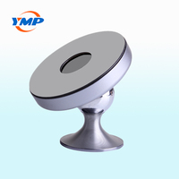 360 Degree Rotatable Car Wireless Charger Qi Universal Cell phone Magnetic Holder Wireless Charging With 3M Sticker Phone Use