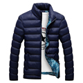 2016 Brand Jacket Men Warm Coat Black Outwear Chaquetas Plumas Hombre Winter Mens Coats Jackets Stand