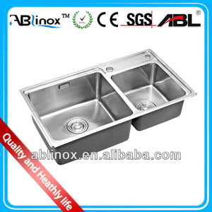 ABL kitchen sink/stainless steel sink/kitchen sink overflow