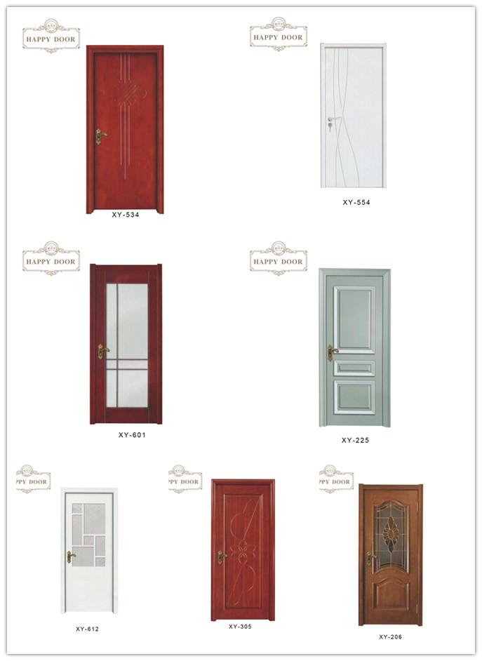 2018 new cheap hardwood exterior door pvc design glassdoor