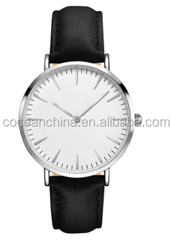 China watch manufacturer !Brand quartz watch sr626sw vintage watch leather