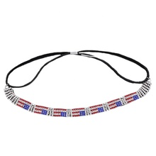 Mode vrouwen hot Nationale Dag charm head chain Independence Day hoofdband vrouwen girl haar accessoires