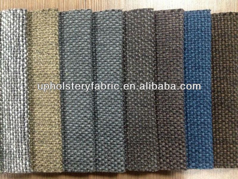 Polyester Linen Katun Viscose Campuran Kain Sofa Rayon Laut Akrilik Product On