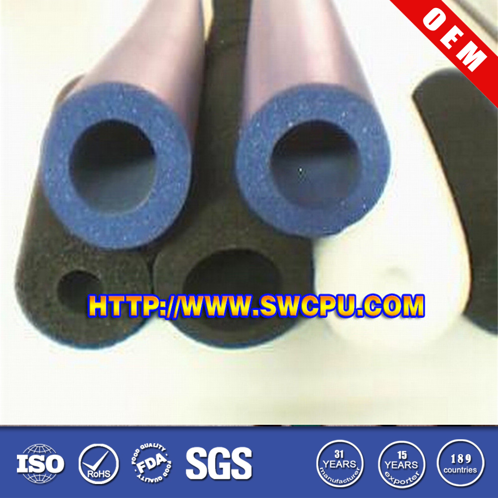 OEM high performance epdm extrusion rubber sponge bar