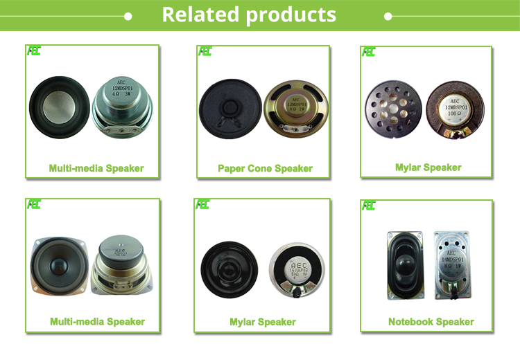 Wholesale Mini Vibration Speaker 8ohm 15w 44mm Sound Exciter