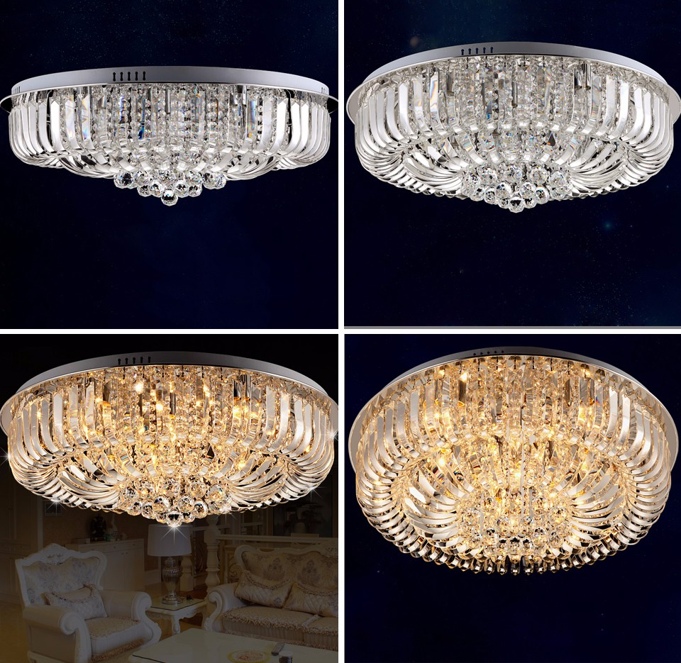 Flush Ceiling Chandeliers