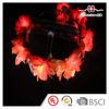 Latest Design Copyright Handmade Fabric Flowers Led Lights Hair Accessories