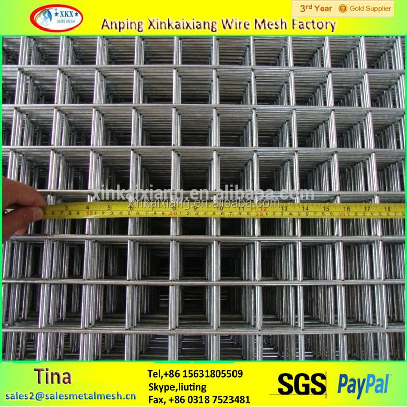 8 Gauge Galvanized Welded Wire Mesh Panel,1x 1m Welded Wire Mesh ...