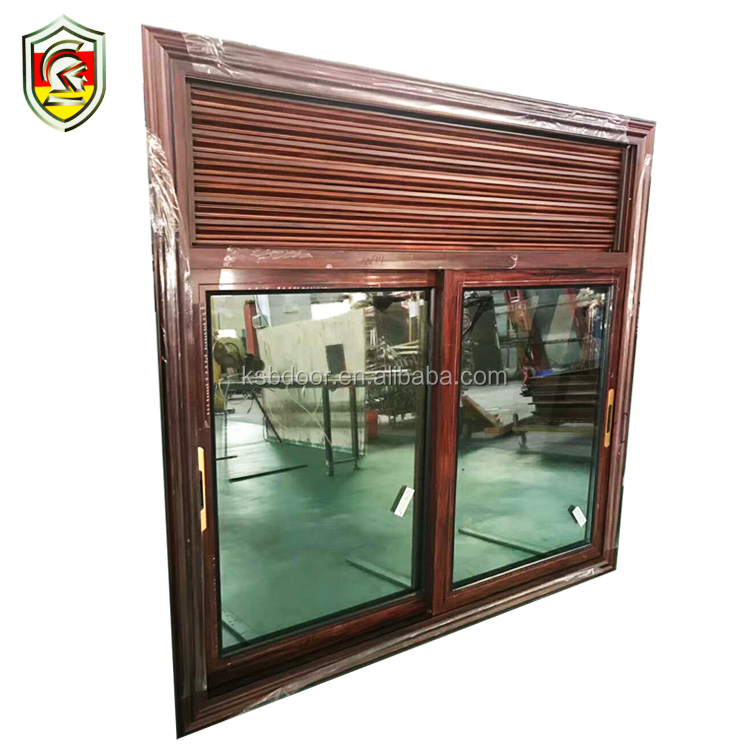 Modern design tempered glass blinds windows buy direct from china factory