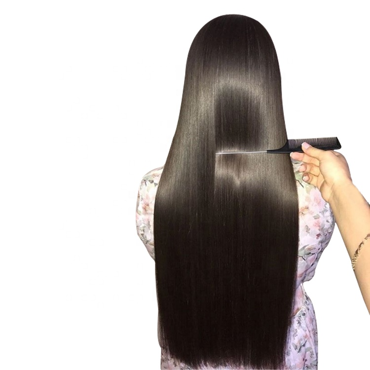 Wholesale double drawn cuticle aligned raw brazilian human hair extension,virgin cheveux indiens hair,remy human hair extensions