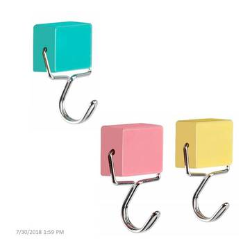 All-Purpose Super Strong Magnetic Adhesive Hooks Refrigerator Magnets Hooks