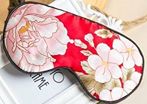 95b8454e4d0 Get Quotations · Tranquility Therapeutic 100% Mulberry Silk Sleep   Eye Mask  with Adjustable Strap  Hypoallergenic