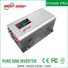 EP3000 Pro series Pure Sine Wave off grid high efficiency 48v 5000w solar power supply with LCD display