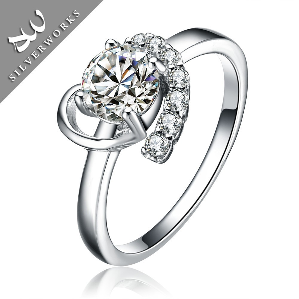 Latest Designs Brilliant Silver Girls New Model Wedding Rings Buy