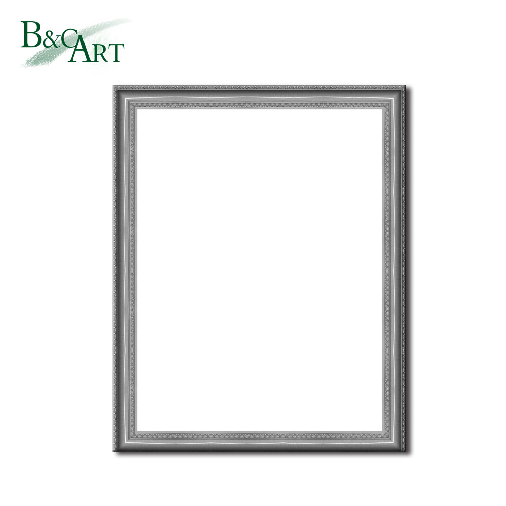 Simple Oil Painting Frames Antique Silver Photo Frame For Home Decor ...