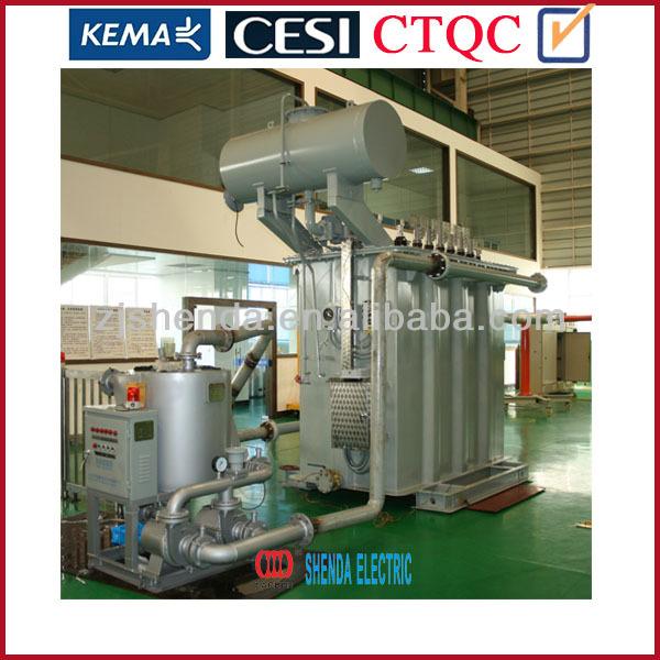 Phase shift rectifier transformer for industry