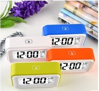 Factory supply 24 hour alarm clock/clock digital/cute alarm clock