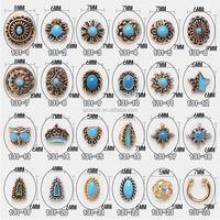 2017 Nail Art Design Metal Nail Charms Bohemia Retro Nail Charms