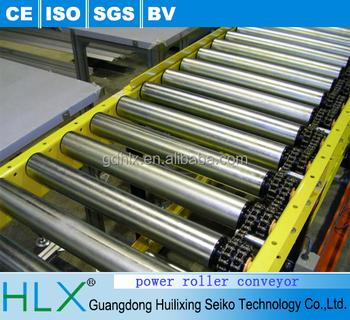 Heavy Duty Motorized Roller Conveyor In Hlx - Buy Motorized Roller  Conveyor,Chain Driven Roller Conveyor,Powered Roller Conveyor Product on