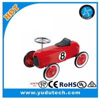 New New LiI Classic Racer car type 4 wheel scooter pushing ride on toy and baby Walker and Foot to floor car
