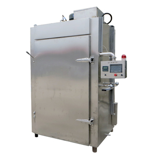 Automatic fish smoker machine/meat sausage smoking machine electric /food  smokehouse oven for sale