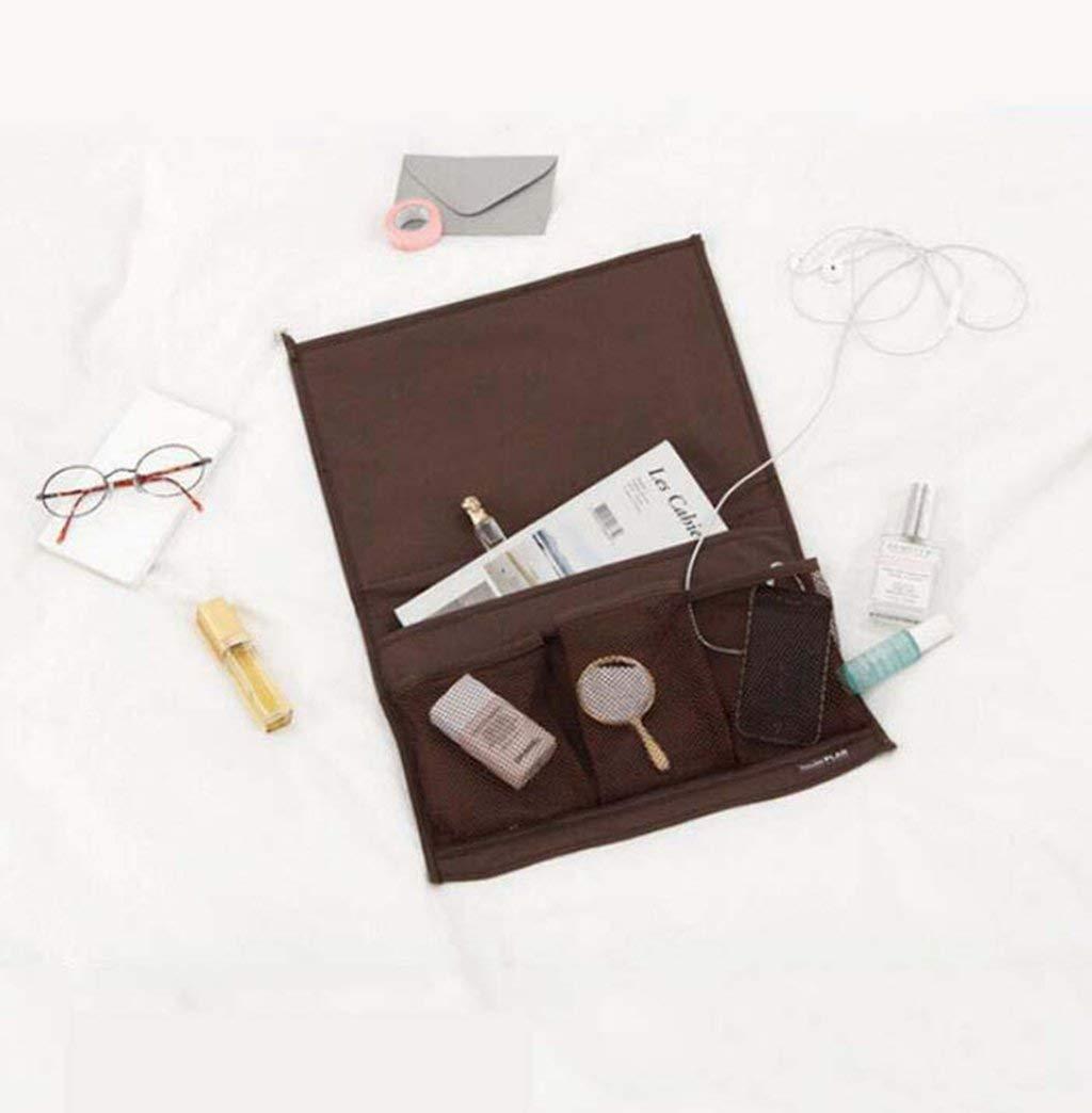 Kaxima Table cabinet sofa storage bag, bedside storage bag, magazine storage bag, hanging bag, Hanging Shelves, 2 pieces, 33x44.5cm