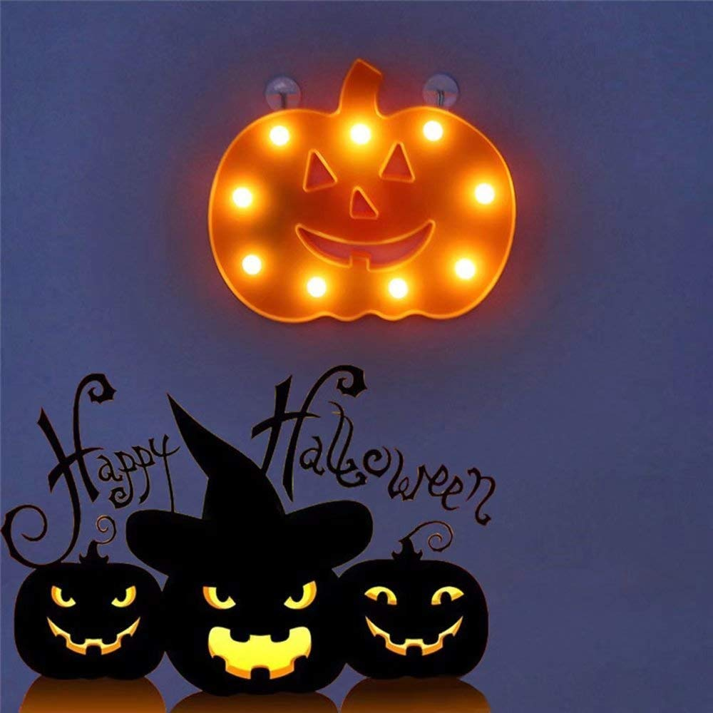 Trade assurance Battery powered Pumpkin Decorative String Suitable for Indoor and Outdoor Halloween Decoration Light String