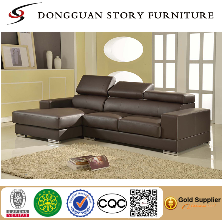 Modern Faux leather Sofa Sectional Living Room Couch Furniture Left Hand Facing Sectional with Chaise