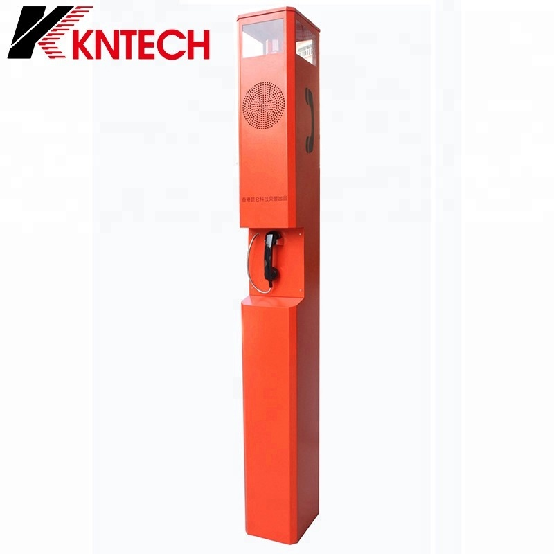 GSM Wireless Harsh Area Emergency Telephone Tower KNEM-26