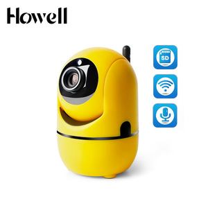 YT09 Minions onvif p2p PTZ CCTV camera wireless small size surveillance ip camera