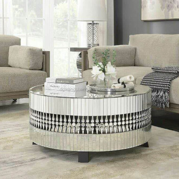 Crystal Mirrored Coffee Table Mirror Tables Product On Alibaba