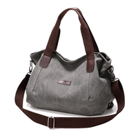 wholesale newly developed canvas shoulder handbag women