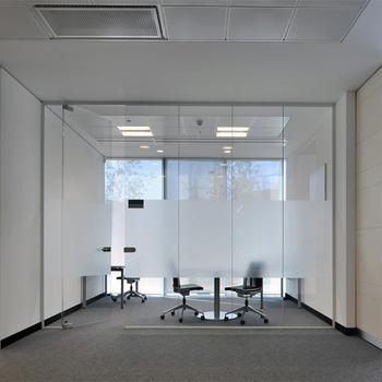 New Design Office Moving Glass Partitions Panels For Wall