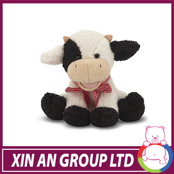 Large farm animals imitated outdoor decoration walking toy plush cow