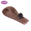 #6 100% brazilian remy straight U-tip hair extensions