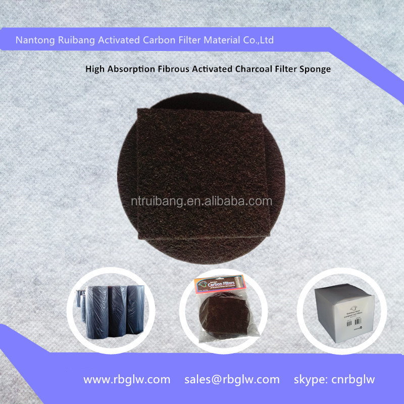 Shoe Pad Material Fibrous Active Carbon Filter Mesh Odor Removal ...