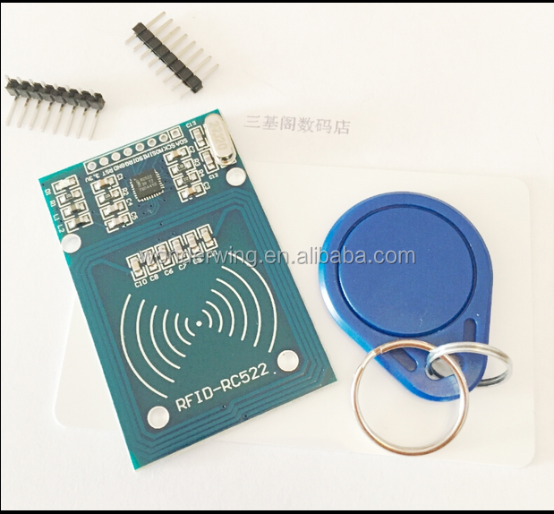 RC522 RFID MFRC-522 radio frequency IC card induction module