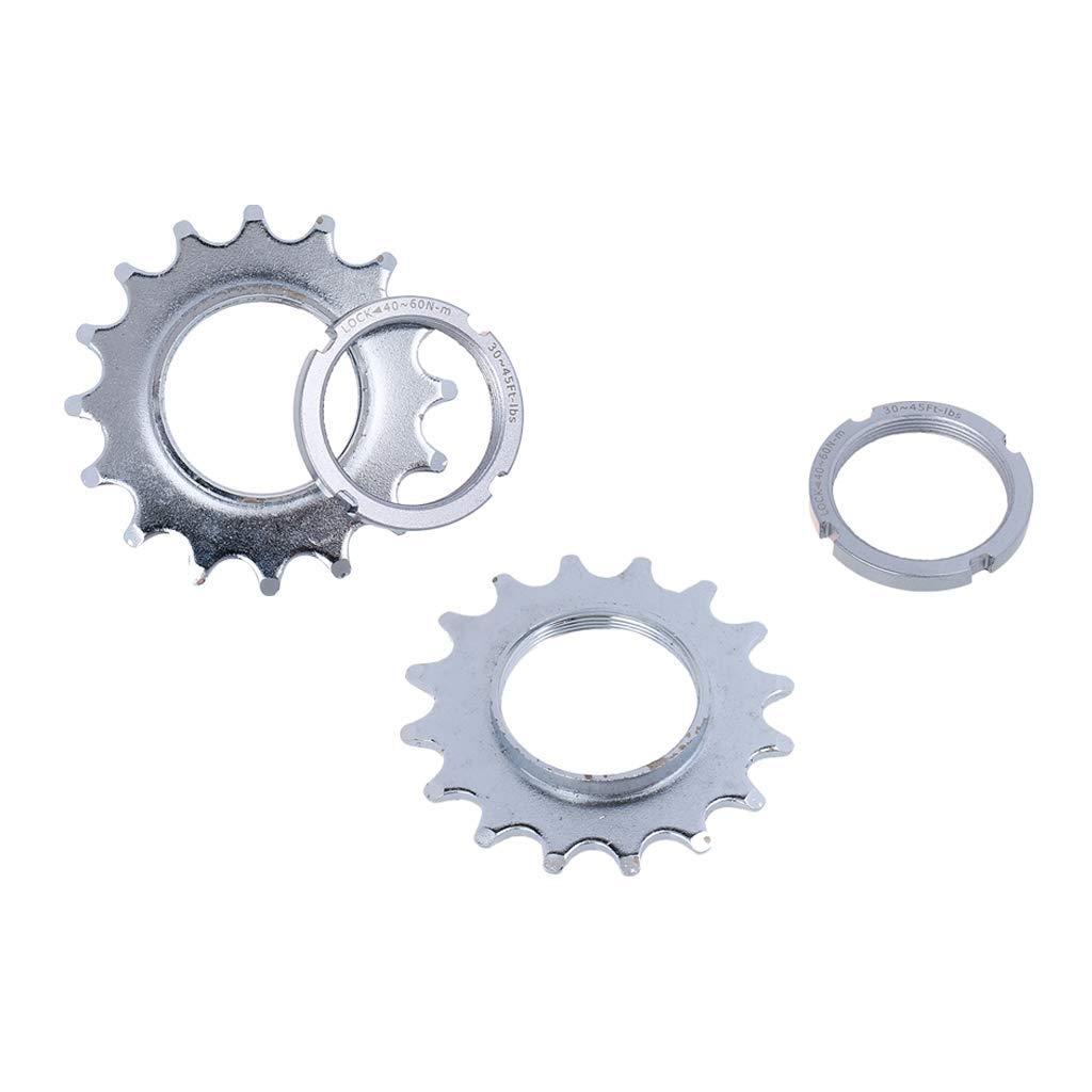 Fixed Gear 14//15//16//17//18T Freewheel Cogs Hub Locking 1 Speed Fixie Bike Thread