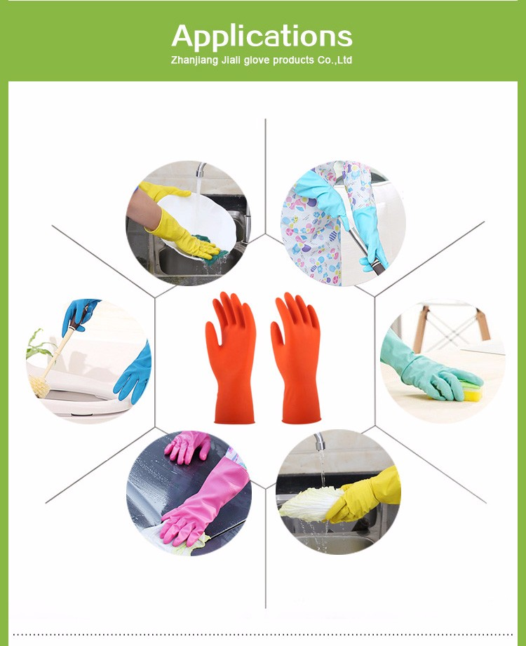2017 Cheap youth sailing perfect grip sailing gloves cut resistant heat resistant household waterproof car wash gloves latex