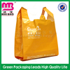 Heavy duty clear biodegradable plastic t-shirt fruit package bag on roll