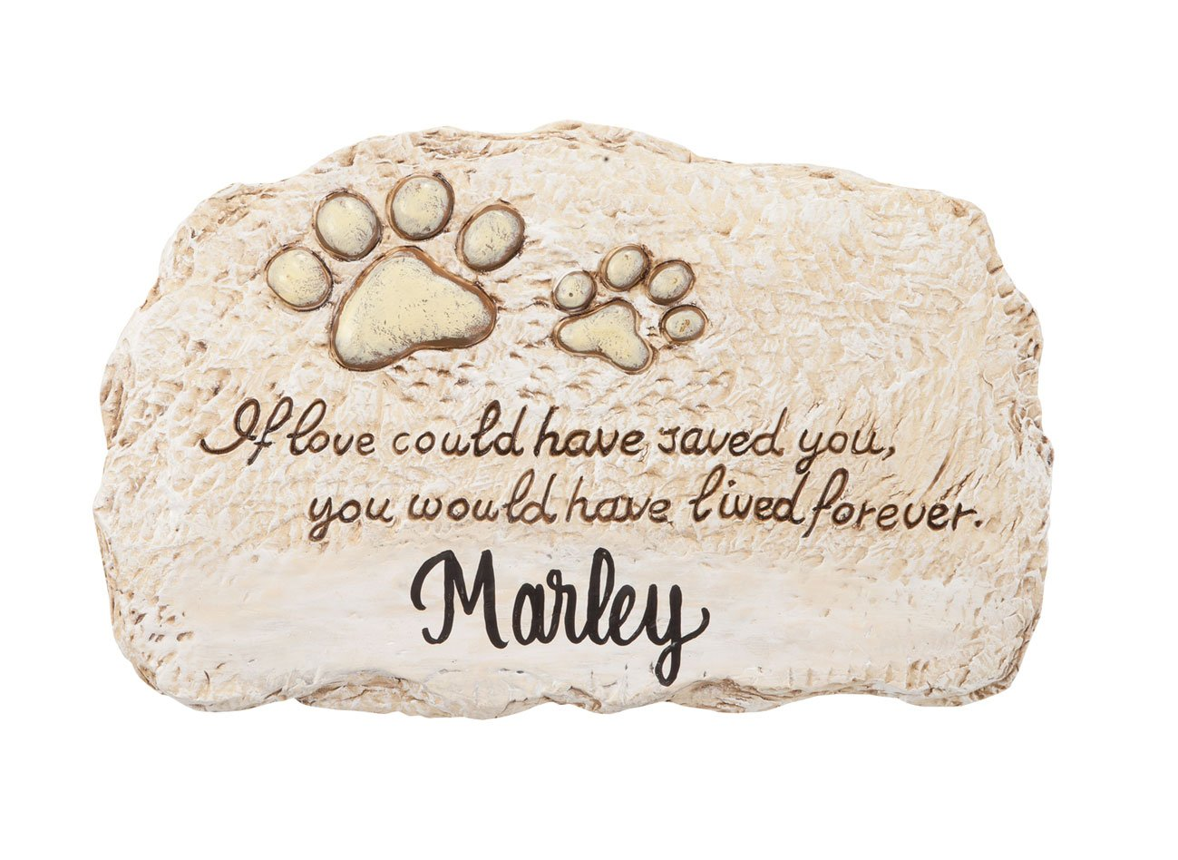 Fox Valley Traders Personalized Forever Pet Memorial Stone