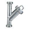 SS304 Sanitary Stainless Steel Thread Y type Strainer(Filter)