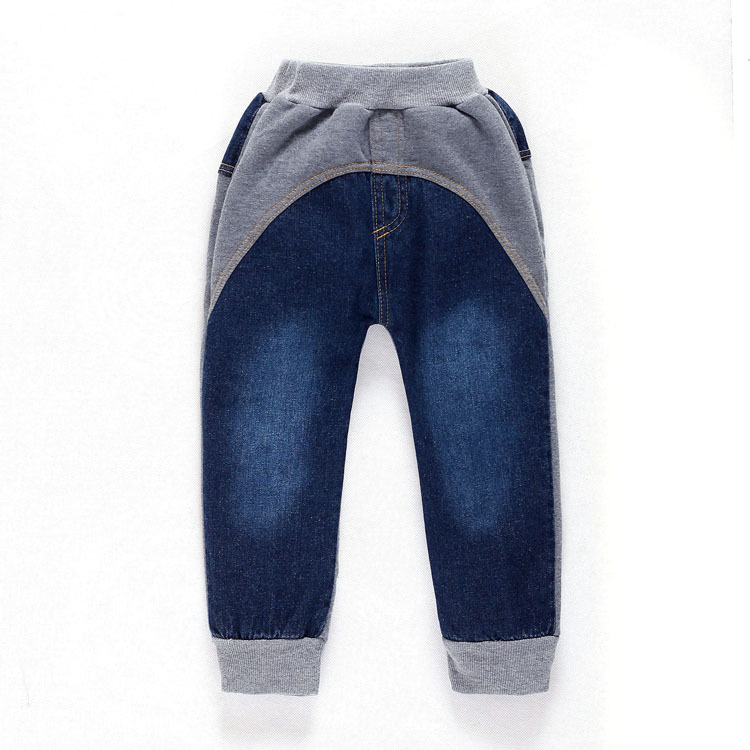 4b3213fb2869 2-8Y Children Jeans Boys Denim trousers Baby Girl Jeans Top Quality ...