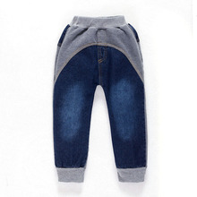 2-8Y Children Jeans Boys Denim trousers Baby Girl Jeans Top Quality Casual pants kids clothing spring
