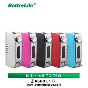Limited-time promotion e cig wholesale china popular Islim Roll TC 70W Dry Herb E cigarette