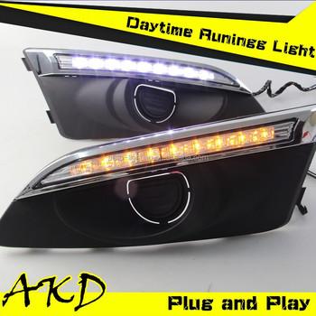 Akd Car Styling Daytime Running Light For Chevrolet Aveo Led Drl