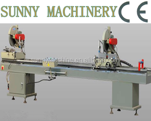 PVC Window Machinery / Double Miter Cutting saw