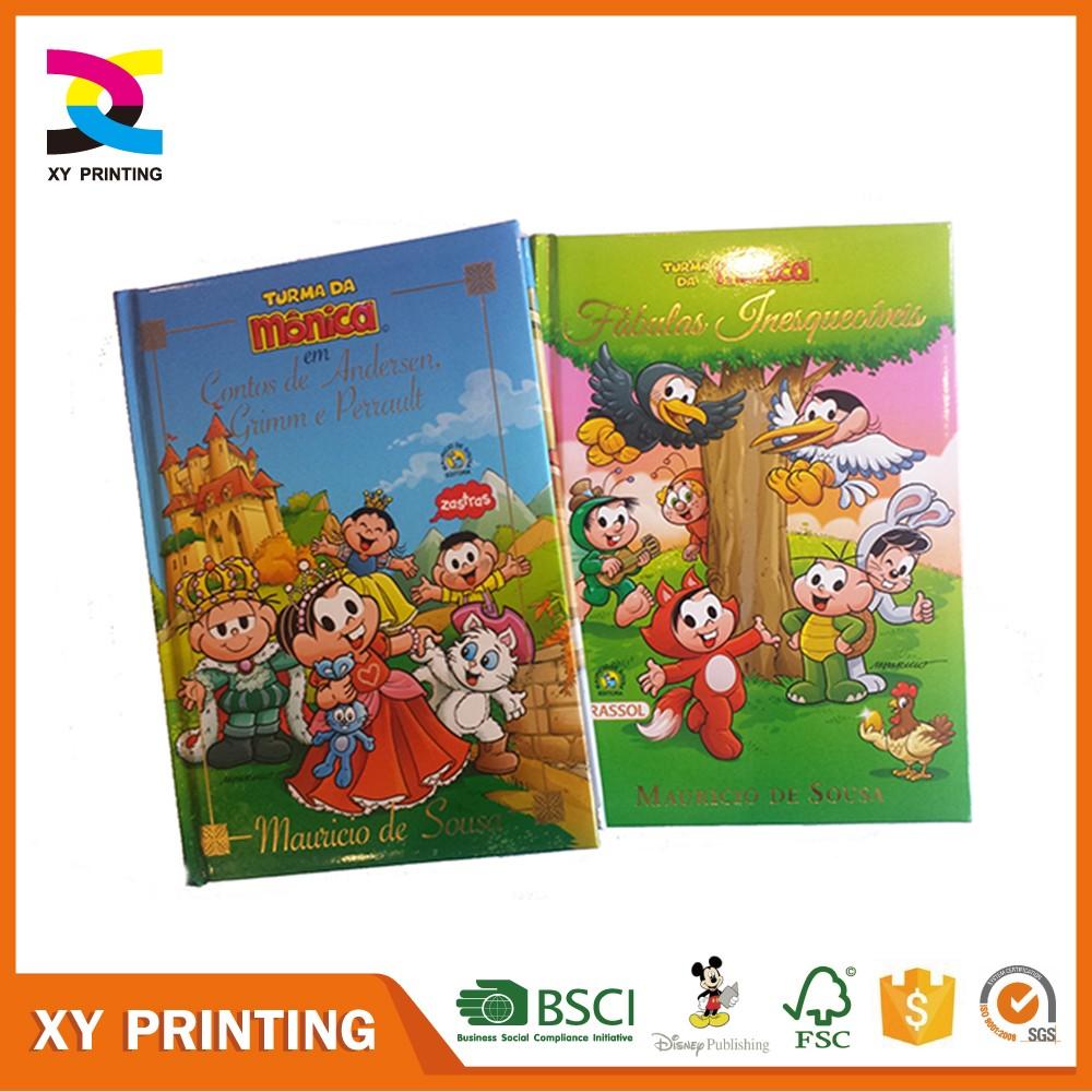 Glossy Book Cover Paper ~ Papel brilhante capa dura livro de impressão